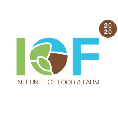 Internet of Food & Farm 2020 (IoF2020) logo