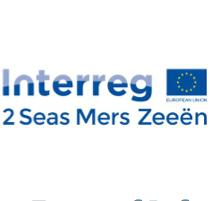 Interreg 2 Seas Mers Zeeën logo